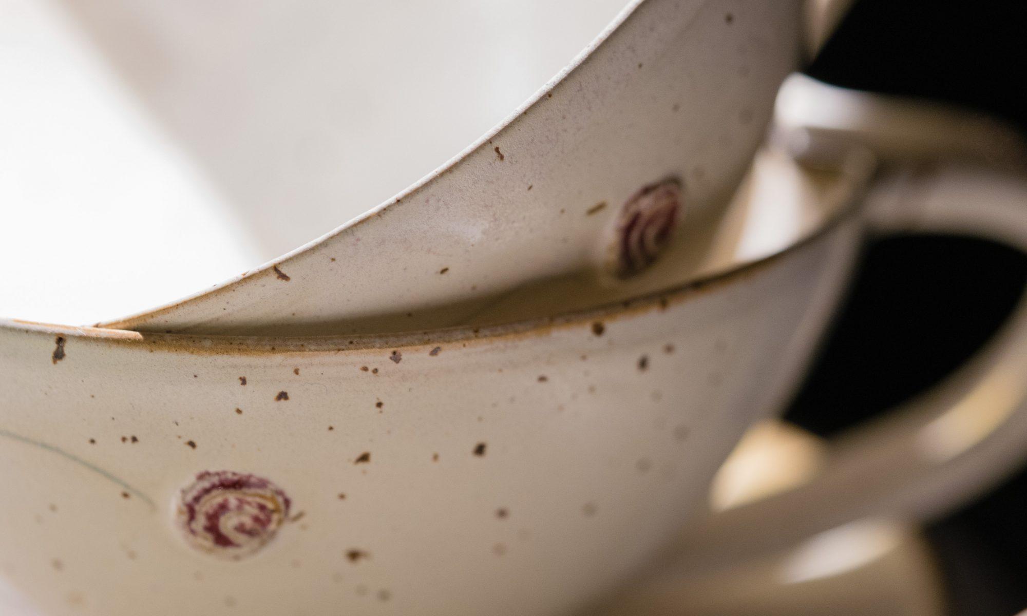 Gebrauchsgeschirr aus Steinzeugton. Töpferei im Odenwald. Barbara Macholz